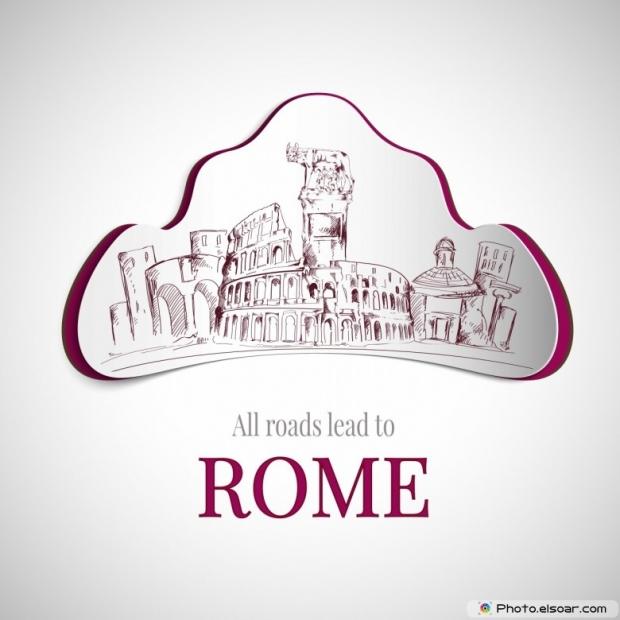 Rome city emblem
