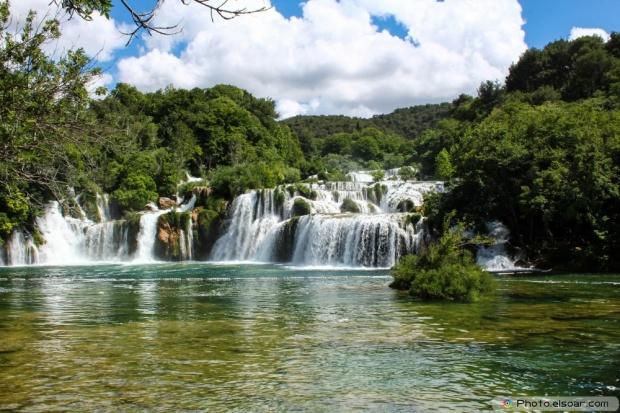 Skradinski Buk waterfalls in the Krka National Park
