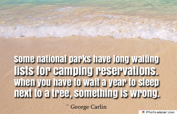 Some national parks have long waiting