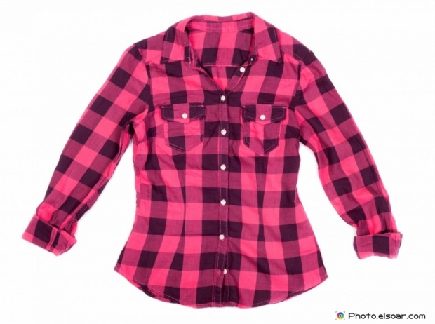 Stylish plaid shirt