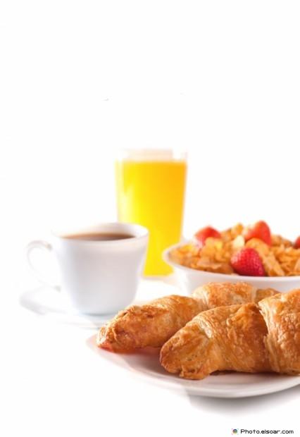 Tasty Croissant At Breakfast