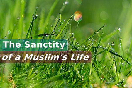 Teachings of Islam, the Sanctity , Muslim's Life, Believer's life