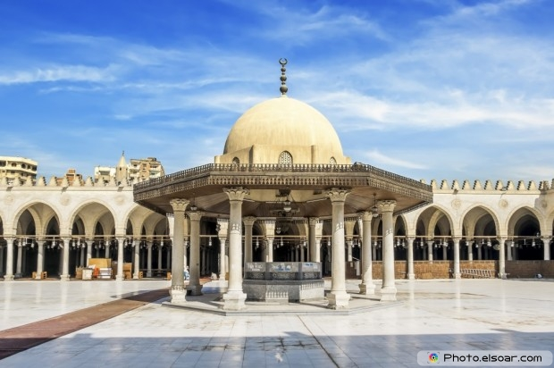 The Mosque Of Amr Ibn Al-`As, Cairo
