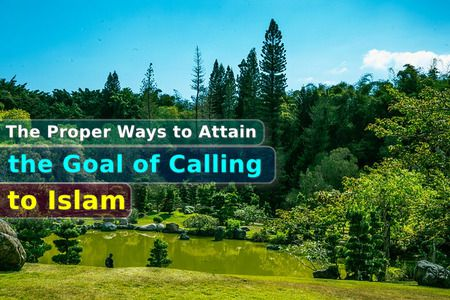 The Proper Ways to Attain the Goal of Calling to Islam