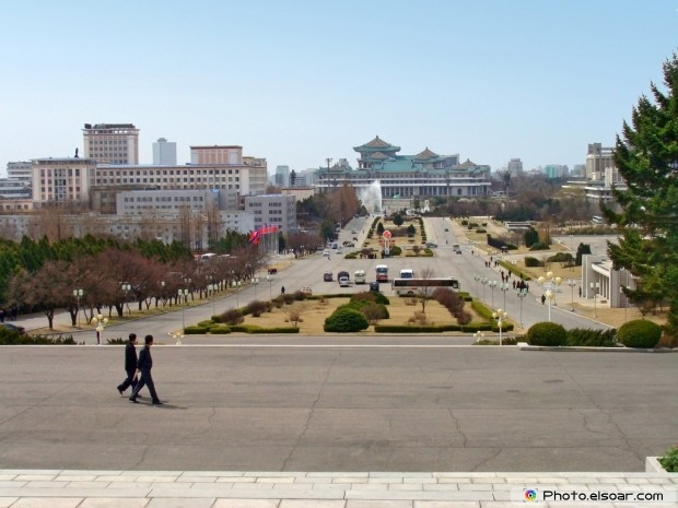 The Pyongyang - Capital Of The North Korea