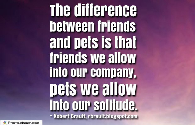 The difference between friends