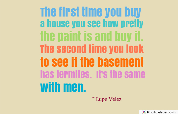 Women's Greetings , The first time you buy a house