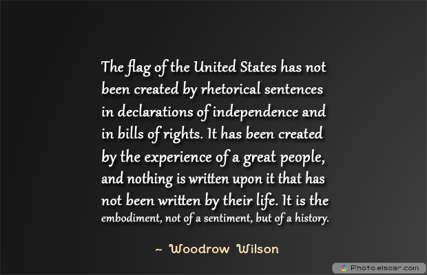 Flag Day , The flag of the United States has not been