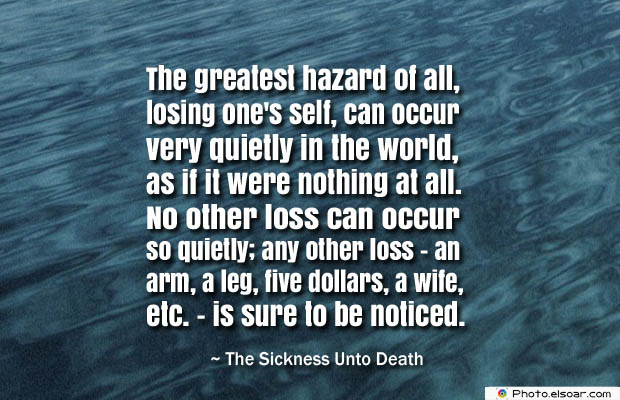 Quotes About Chakras , The greatest hazard of all