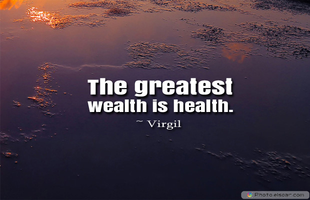 Donate Life , The greatest wealth is health