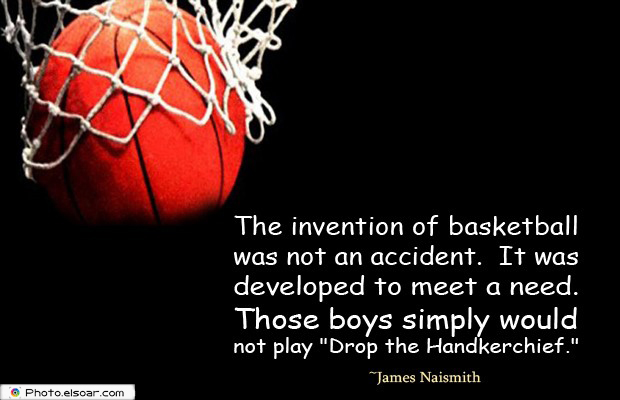 The invention of basketball was not an accident