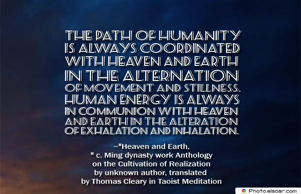 Breathing Quotes , The path of humanity is always