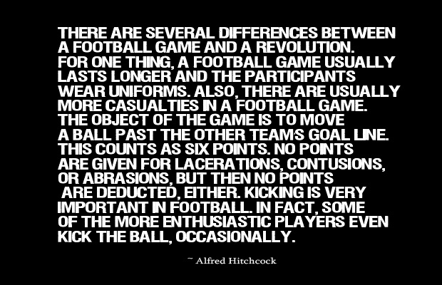 There are several differences between a football