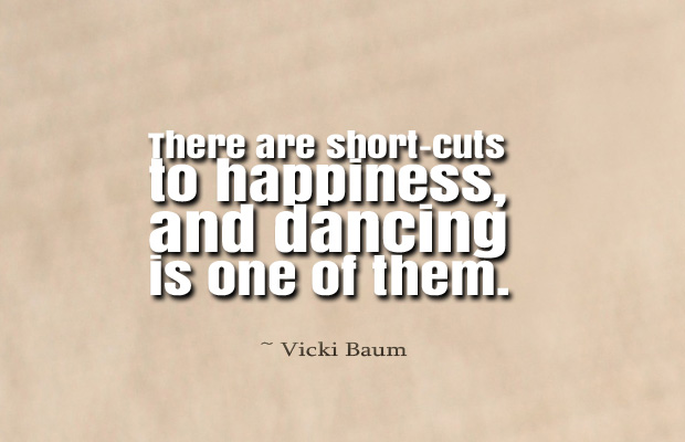 There are short-cuts to happiness