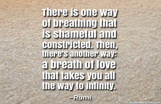 Breathing Quotes , There is one way of breathing