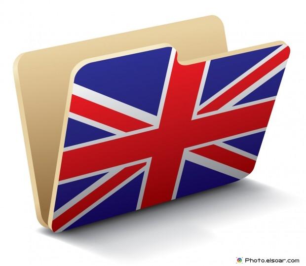 UK Flag - Folder Icon
