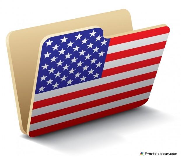 USA Flag - Folder Icon