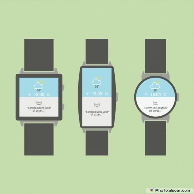Various Minimal Smart Watch Designs