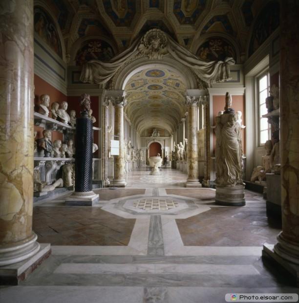 Vatican Museum - Interior