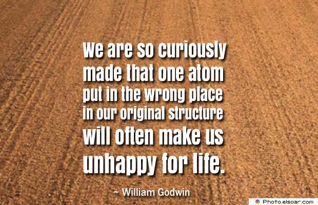 Body Quotes , Quotes About Body , We are so curiously made that one atom