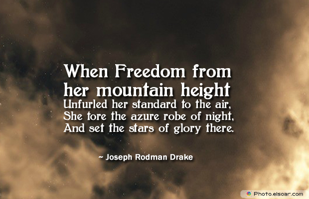 Flag Day , When Freedom from her mountain height