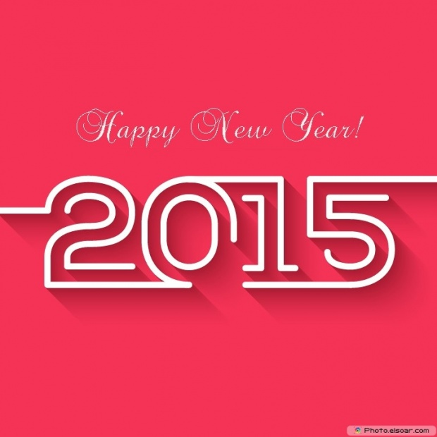 Wish You A Happy New Year 2015 - Free Card