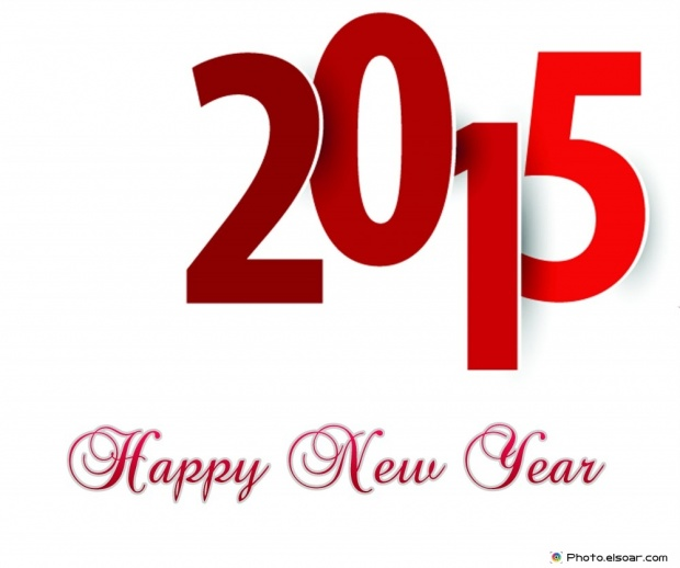 Wishing You A Happy New Year 2015 - Free Image
