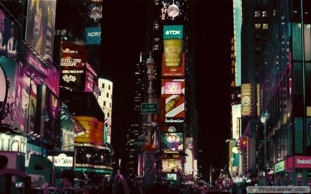 Wonderful Cityscapes At Night HD Wallpaper