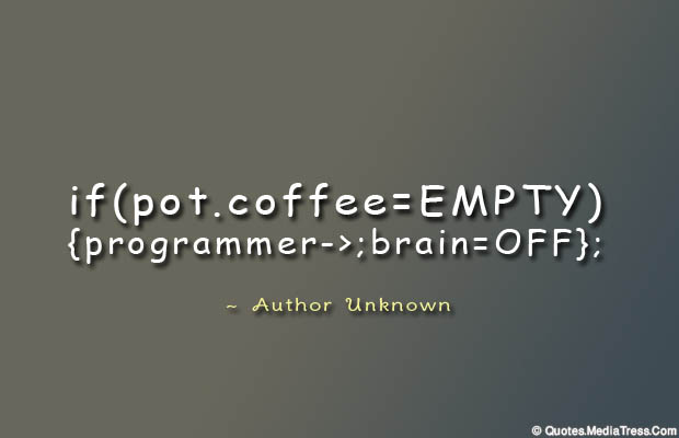 Quotes About Coffee , Coffee Quotes , if pot coffee
